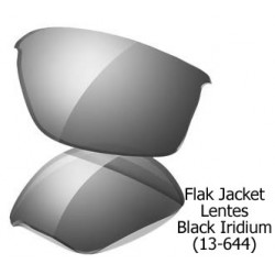 Flak Jacket Lentes Black Iridium (13-644)