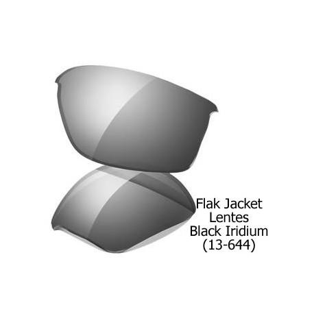 Flak Jacket lens Black Iridium (13-644)