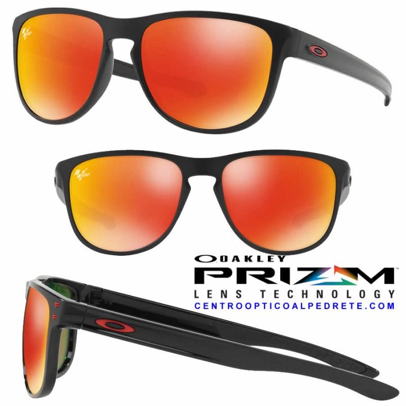 eb24c8390e Sunglasses Oakley Sliver R MotoGp Matte Black   Prizm Ruby (OO9342-15)