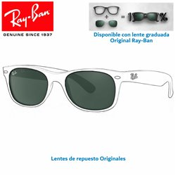 Lentes de repuesto Ray-Ban New WayFarer Lente Crystal Green (RB2132-6013)