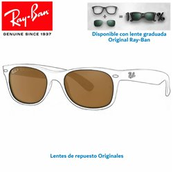 Lentes de repuesto Ray-Ban WayFarer Lente Crystal Brown Polarized (RB2132-902/57)
