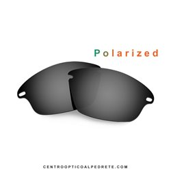 Fast Jacket Lente Black Iridium Polarized (9097-05L)