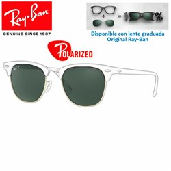 Lentes de repuesto Ray-Ban New ClubMaster Lente Green Polarized (RB3016-901/58)
