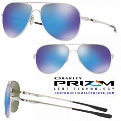 Elmont Polished Chrome / Prizm Sapphire (OO4119-10)