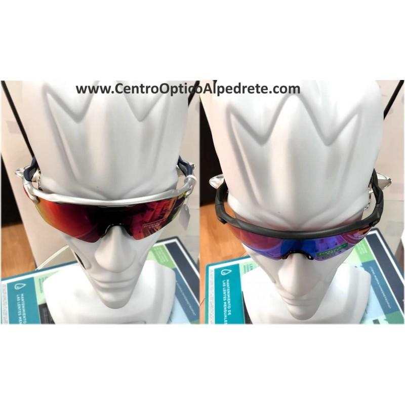4e46297fe1 Sunglasses Oakley Radar EV XS Custom Path Silver   Prizm Field ...