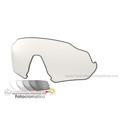 Flight Jacket Lente Clear Black Iridium Photochromic (102-899-019)