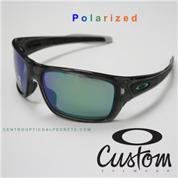 Turbine Custom Grey Smoke / Jade Iridium Polarized (OO9263-7054)