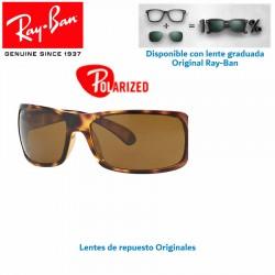 Lentes de repuesto Ray-Ban WayFarer Lente Crystal Brown Polarized (RB2132-902/57)