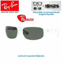 Lentes de repuesto Ray-Ban RB3386 / Lente Green Polarized (RB3386-004/9A)