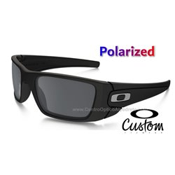 Fuel Cell Custom Matte Black / Black Iridium Polarized (OO9096-7113)