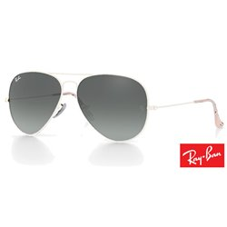 Lentes de repuesto Ray-Ban Aviator Large Metal / Lente Light Grey Gradient Dark Grey (RB3025-181/71)
