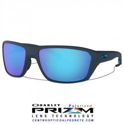 Split Shot Matte Translucen Blue / Prizm Sapphire Polarized (OO9416-04)
