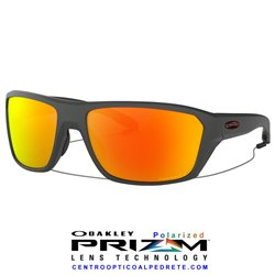 Split Shot Matte Heater Grey / Prizm Ruby Polarized (OO9416-08)