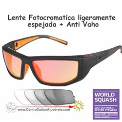 PlayOff Black-Orange / Photochromic Fire Flash Anti Vaho (12403)
