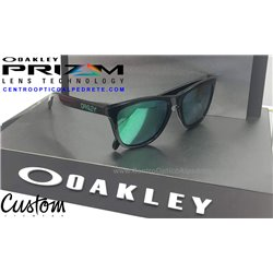 Frogskins Custom Polished Black / Prizm Jade (9013-7184)
