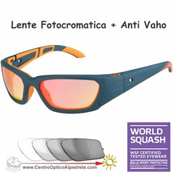 League Dark Petrol-Orange / Photochromic Flash Fire AntiVaho (12406)