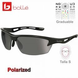 Bolle Bolt S Shiny Black / TNS Grey Polarized (11869)