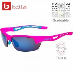Bolle Bolt S Matte Pink / Brown Blue (12511)