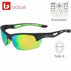 Bolle Bolt S Matte White-Green Rubber/ Brown Emerald (12418)