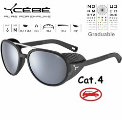 Cebe SUMMIT CBSUM1 Matte Black Silver / Peak Grey Silver AR