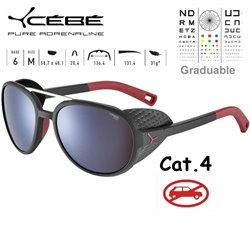 Cebe SUMMIT CBSUM3 Matte Red Grey Neon Yellow / Zone Brown Silver AR AF