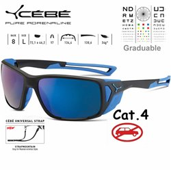 Cebe PROGUIDE CBPROG1 Matte Black Blue / Peak Grey Blue AR