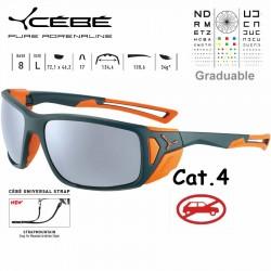 Cebe PROGUIDE CBS039 Matte Petrol Orange / Peak Grey Silver AR