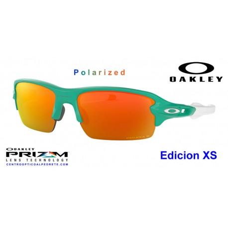 e9e9cf091d Sunglasses Oakley Flak XS Celeste   Prizm Ruby Polarized (OJ9005-07)