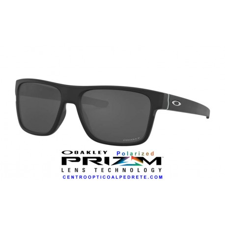 CrossRange Matte Black / Prizm Black Polarized (OO9361-26)
