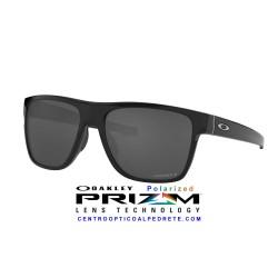 CrossRange XL Polished Black / Prizm Black Polarized (OO9360-23)