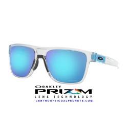 CrossRange XL Matte Clear / Prizm Sapphire (OO9360-21)