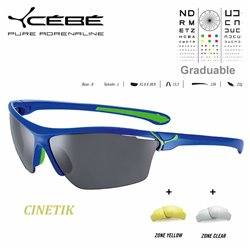 Cebe SUMMIT CBSUM2 Matte Black Blue / Peak Grey Blue AR