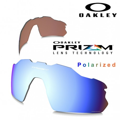fcd6c614b6566 Sunglasses Oakley Radar EV Pitch Lente Prizm Deep Water Polarized Vented