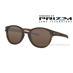 Latch Matte Brown Tortoise / Prizm Tungsten (OO9265-02Custom)