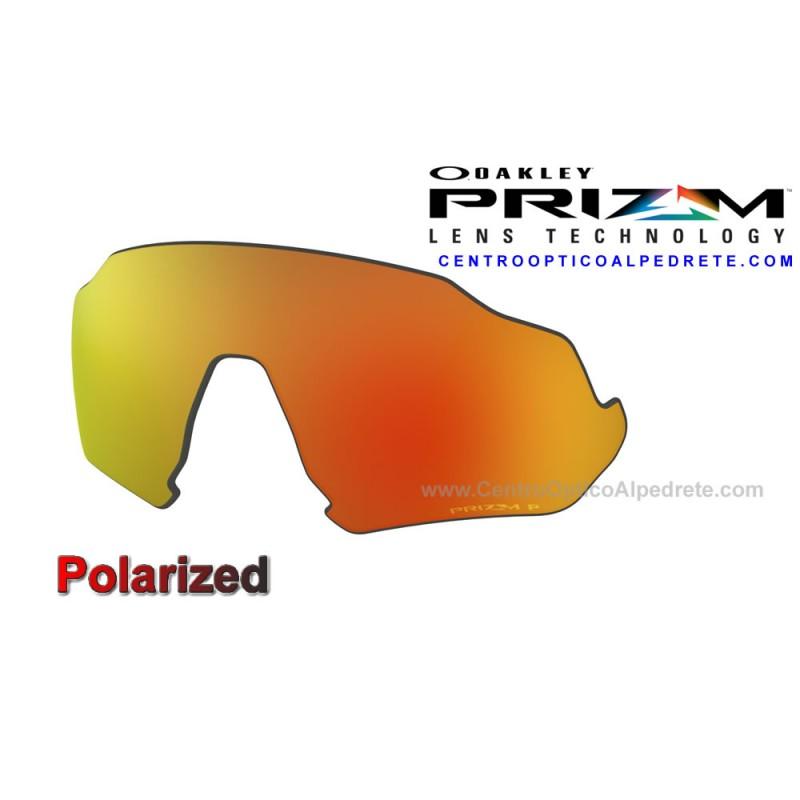 64eece71282da Oakley sport sunglasses Flight Jacket Lente Prizm Ruby Polarized  (102-899-010)