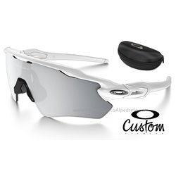 Radar EV Path Custom Polished White / Chrome Iridium (OO9208-7469)