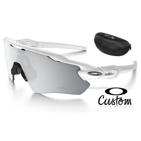 e6660572bc Sunglasses Radar EV Path Custom Polished White / Chrome Iridium  (OO9208-7469)