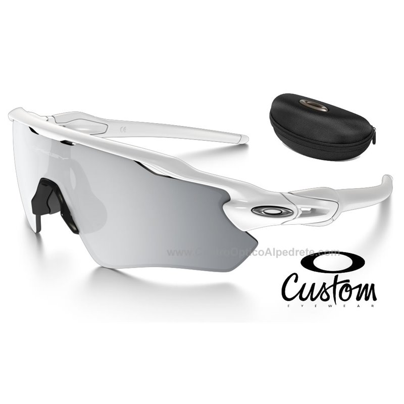 b35da5874dd Sunglasses Radar EV Path Custom Polished White   Chrome Iridium  (OO9208-7469)