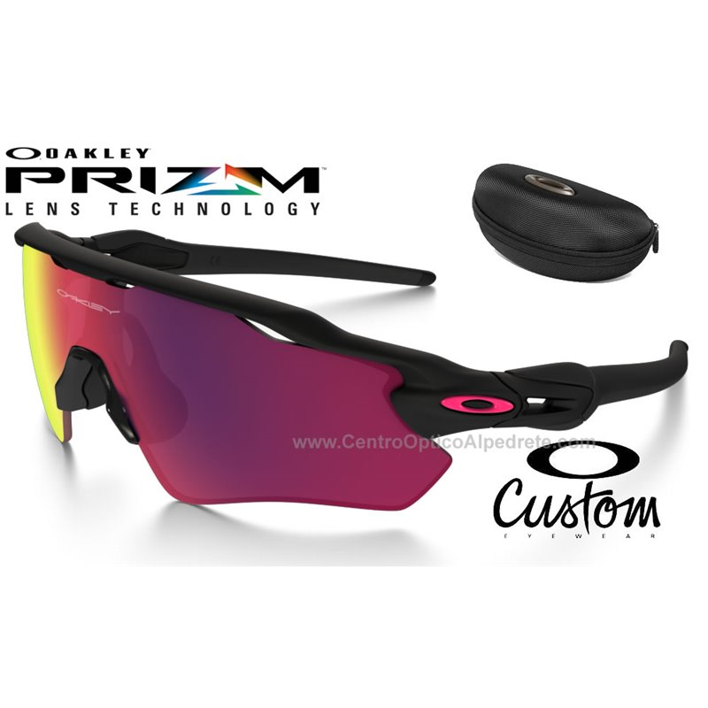 e5f604b0fdee4 Oakley Sunglasses Radar EV Path Custom Matte Black   Prizm Road  (OO9208-7477)