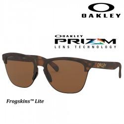 Frogskins Lite Matte Brown Tortoise / Prizm Tungsten