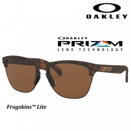 08db8948f6 Frogskins Lite Grips Matte Traslucen Sapphire / Prizm Sapphire (OO9374-07)