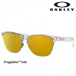 Frogskins Lite Polished Clear / 24k Iridium