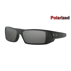 Gascan Matte Black / Black Iridium Polarized (12-856)