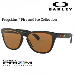 Frogskins Fire&Ice Matte Black / Prizm Bronze Ruby alt Iridium.
