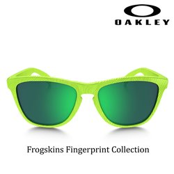 Frogskins FingerPrint Retina Burn / Jade Iridium