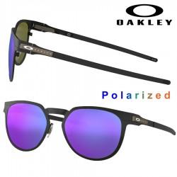 Diecutter Satin Black / Violet Iridium Polarized