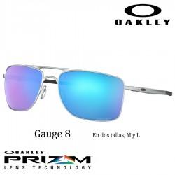 Gauge 8 Matte Lead / Prizm Sapphire