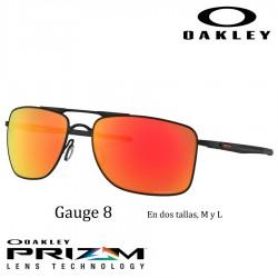 Gauge 8 Matte Black / Prizm Ruby