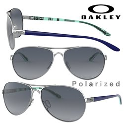 Feedback Polished Chrome / Grey Gradient Polarized