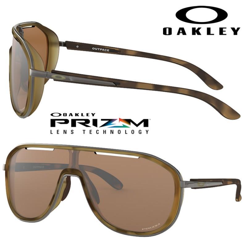 e6461a7bf65 Gafas de sol Outpace Matte Brown Tortoise   Prizm Tungsten